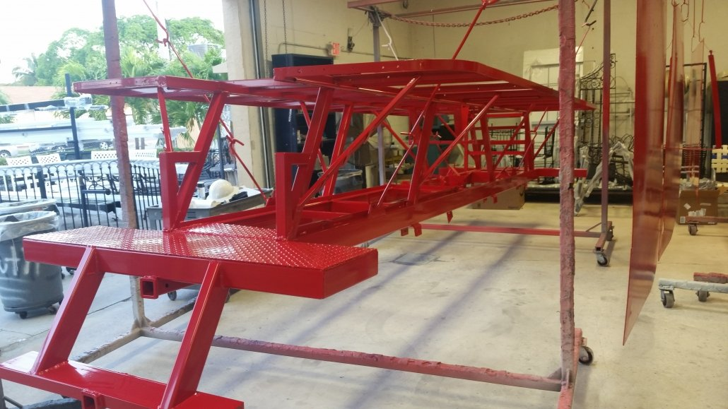 Red Buggy Frame