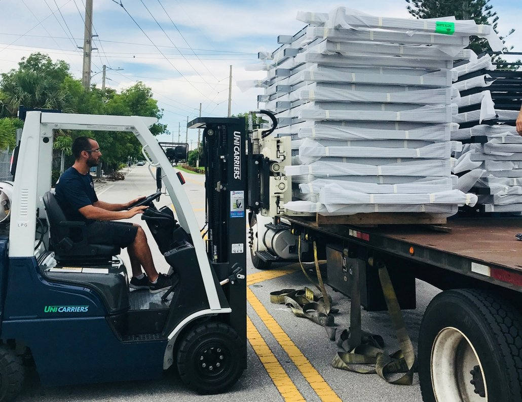 Patio Furniture Pickup and Delivery Services