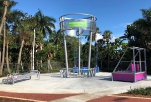 South Florida Science Center Powder Coating